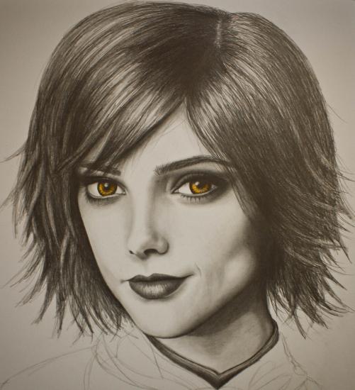 Ashley Greene by peachesnbrody